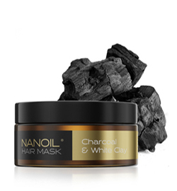 Charcoal & White Clay Hair Mask