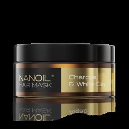 Nanoil – maska do włosów z węglem